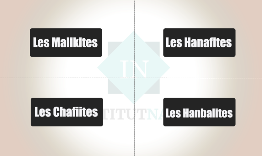 4 ecoles islamiques